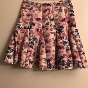 LC runway collection floral skirt